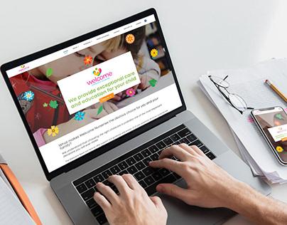 Welcome Nurseries Website Design