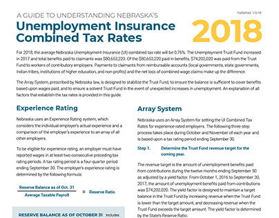 Guide to Understanding Combined Tax Rates White Paper
