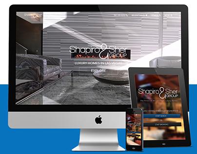 WEB DESIGN: Las Vegas Fine Homes ver. 2 - Real Estate