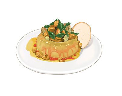 FOOD - Illustrations
