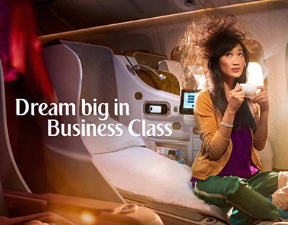 Emirates | First and Business Class Print Ads