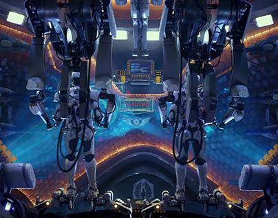 Oculus Rift - Jaeger Pilot VR @ Comic-Con