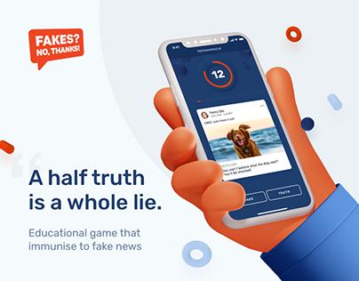 Fakes? No, thanks! – Game against fake news