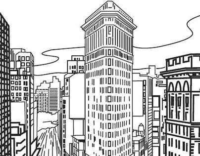 Drawings for hotel Cosmopolit Sarajevo
