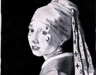 S/o X vermeer : The girl with the Splash Splash