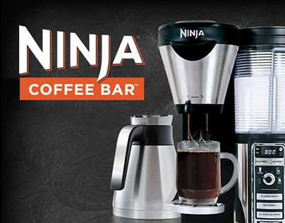 HTML5 Web Advertisements - Ninja Coffee Bar