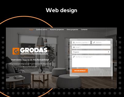 Grodas Landing Page