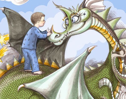 """""""The Real Dragon"""" Book  illustrations"""