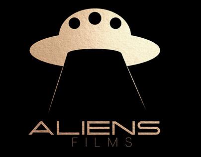 Aliens Films   Identidade Visual