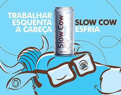 Liberte sua calma - Slow Cow - Mobiliário Urbano