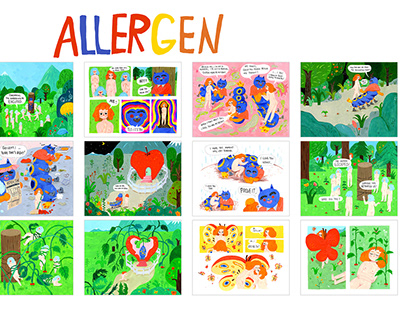 ALLERGEN | Personal Project | Graphic Novel