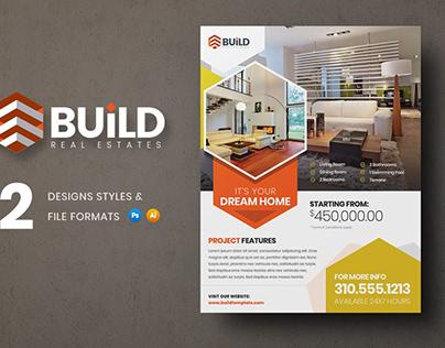 Build Real Estate Flyer