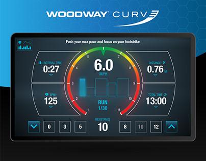 Woodway Curve | UX/UI