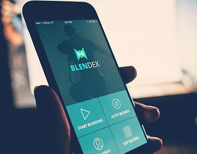 Blendex - Movie maker app concept