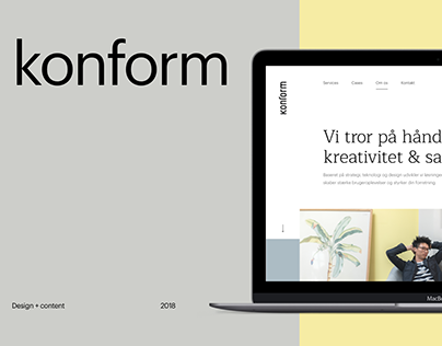 Konform website
