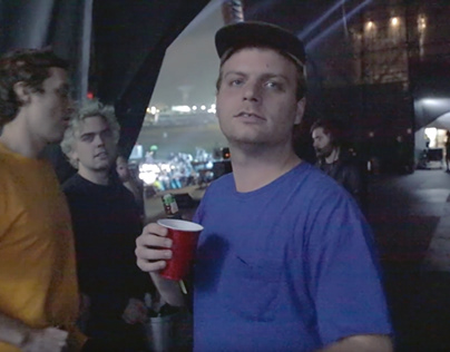 Mac DeMarco goes on stage at Lollapalooza Brazil 2018