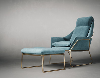 CGI - Armchair Sabera Italia New York