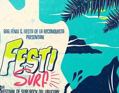 Festi Surf - Identidad & Gráfica
