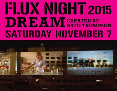 Flux Projects Merchandise & Promotional Design.