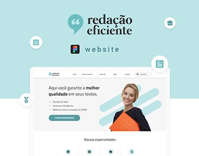 Website UX/UI - Redação Eficiente