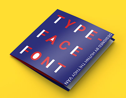 Brochure - Font & Type face