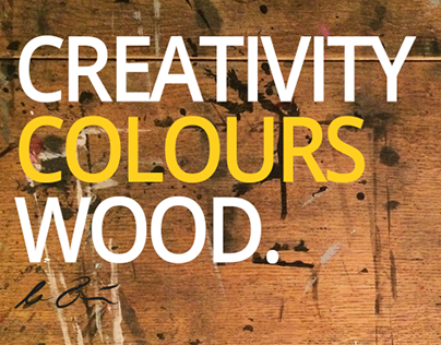 Creativity Colours Wood