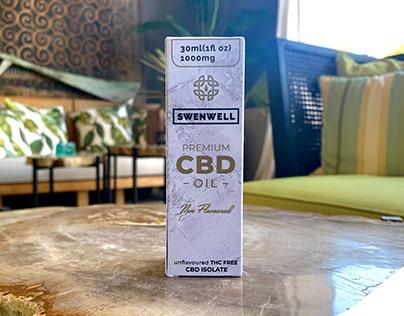 Swenwell CBD Identity and Branding
