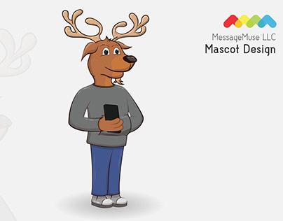 MessageMuse Mascot Design