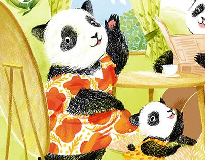Children's Story Illustration