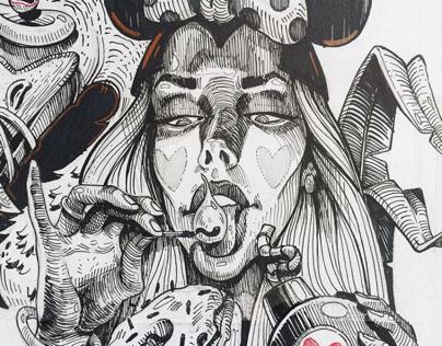 INK & PENCIL