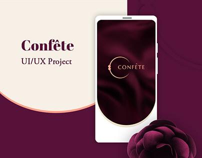 Confête | UI/UX Project
