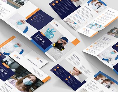 Medical Business – Brochures Bundle Print Templates