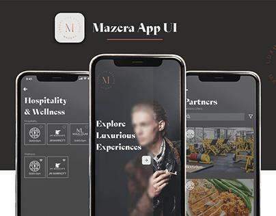Mazera-App UI