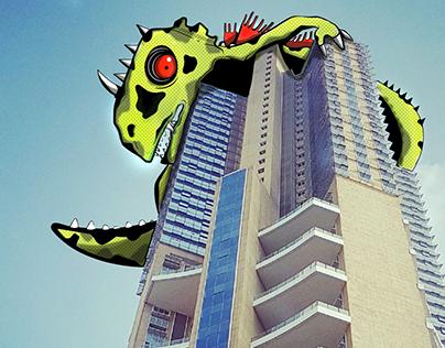 Monsters in Mumbai