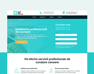 Sandi-Mira Cleaning | Website