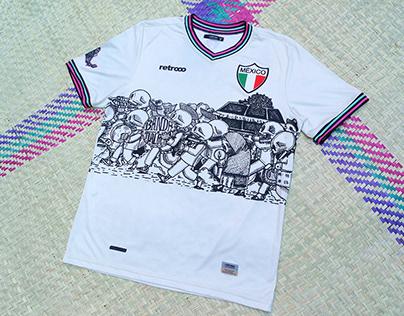 """Camiseta de México """"Día de muertos"""""""