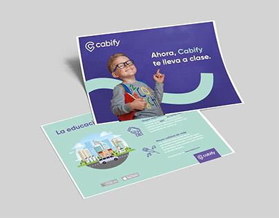 Flyer Cabify