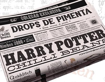 Drops de Pimenta   Chilli Beans   Especial Hary Potter