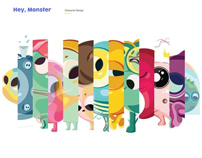 Hey Monster_ Character Design