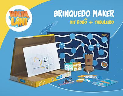 Volta, Lin! | Brinquedo Maker