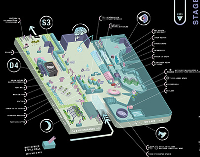 iiipoints 2019 Festival Grounds Map