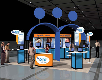Mpire Corporate Exhibit Rendering