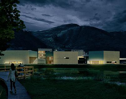 Concurso Anteproyecto Colsubsidio Maiporé / Alpec.co