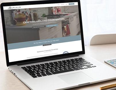 Fluid Concrete Designs Website