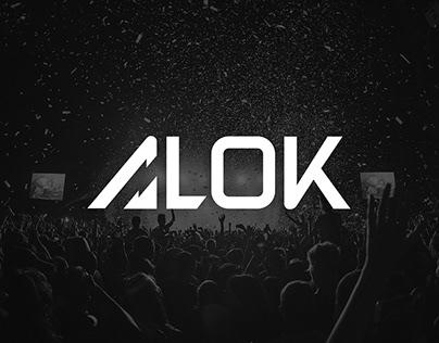 ALOK DJ (World's #11) - Rebranding project