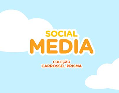 Social Media: Coleção Carrossel Prisma