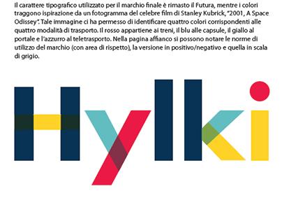Un sistema tipografico per l'immagine coordinata Hylki