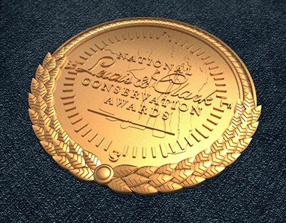 Bas-relief medallion for CNC