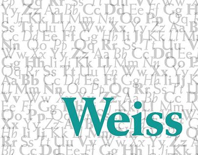Weiss Type Specimen
