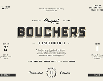 Bouchers Family Bundle